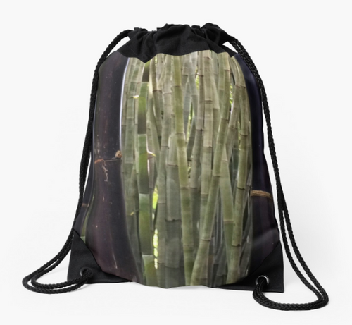 Majestic Bamboo Drawstring Bag