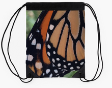 Monarch Butterfly Drawstring Bag