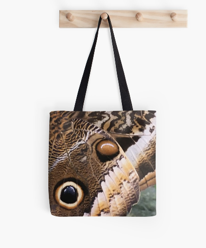One Eye Butterfly Tote