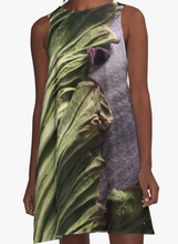 Titan Bloom A-Line Dress