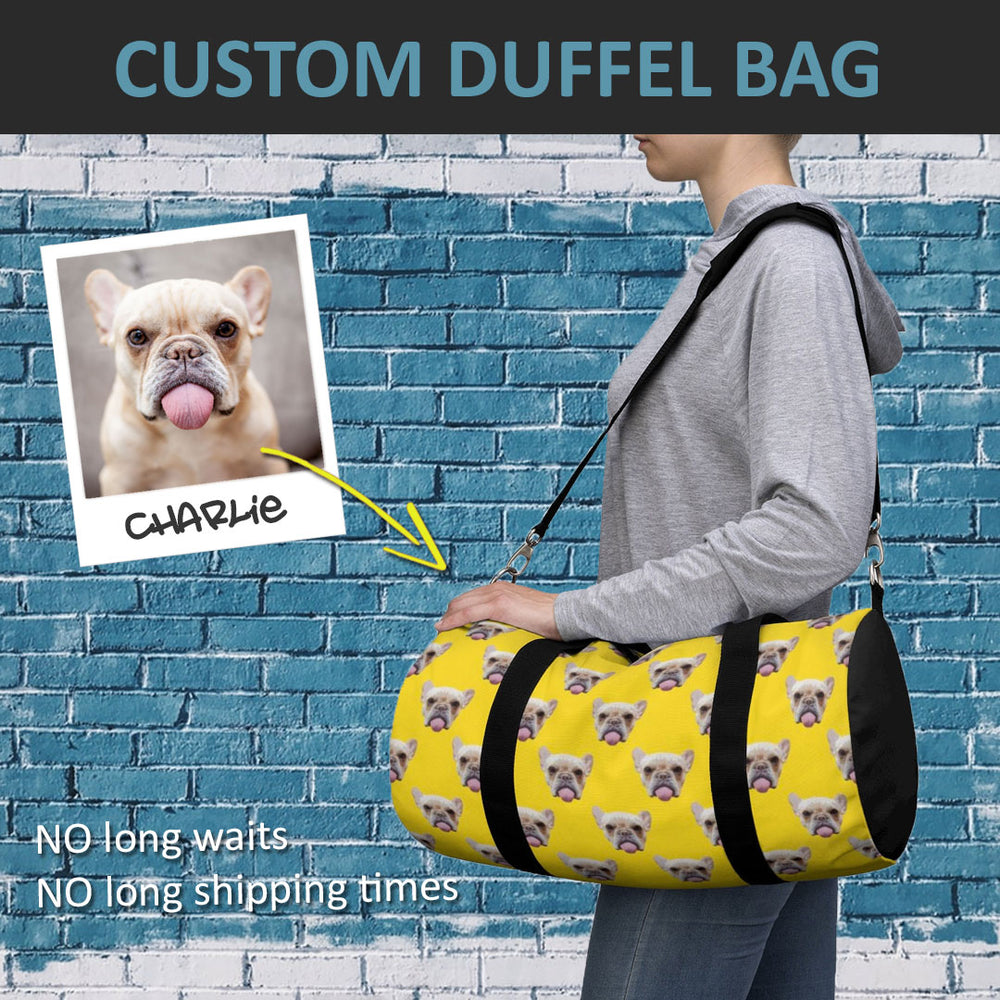 Custom Duffel Bag - petilly.com