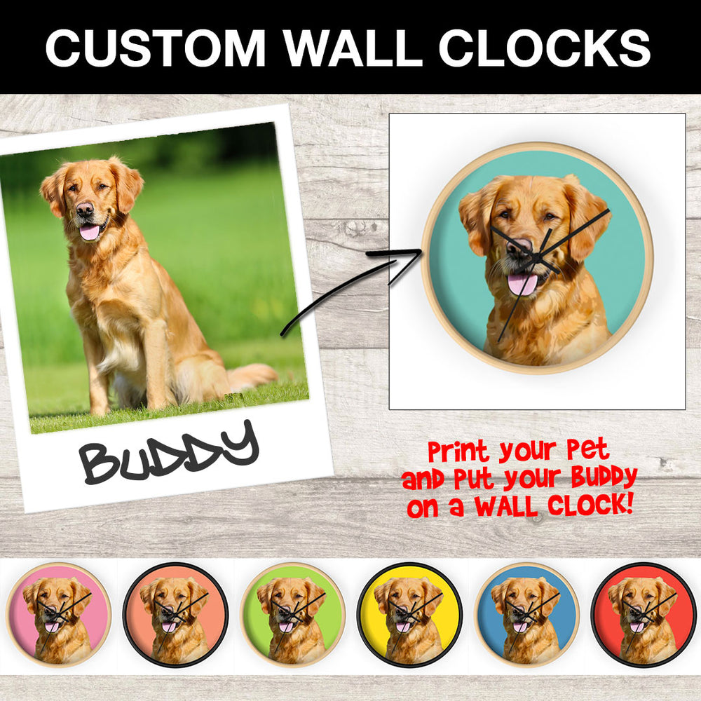 Custom Wall Clock - petilly.com