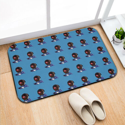 Bath Mat - Pop Pattern Style - petilly.com