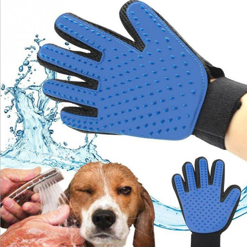 Magic Hair Grooming Pet Glove - petilly.com