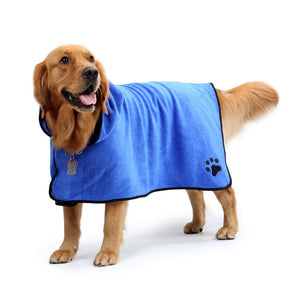 Dog Microfiber Bath Towel - petilly.com