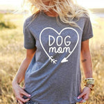 Dog Mom T-Shirt - petilly.com