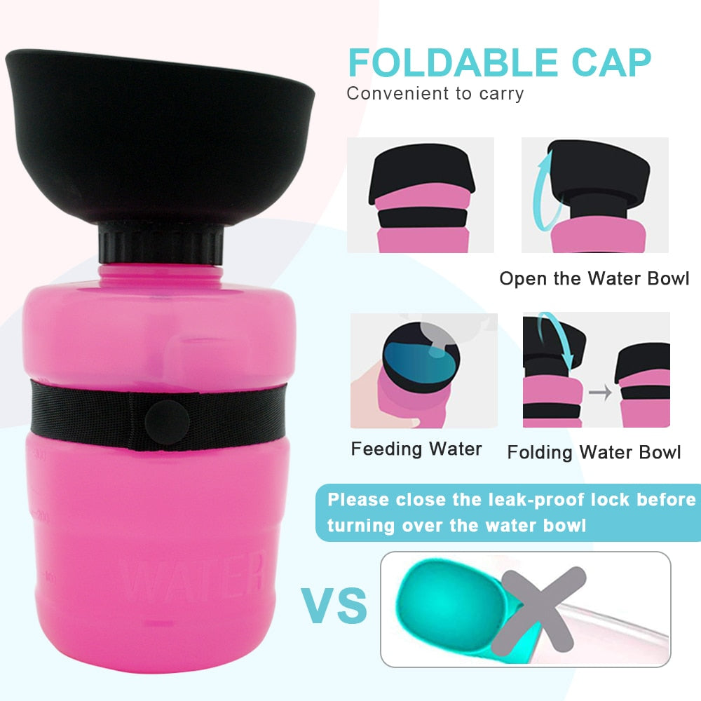 Collapsible Dog Water Dispenser - petilly.com