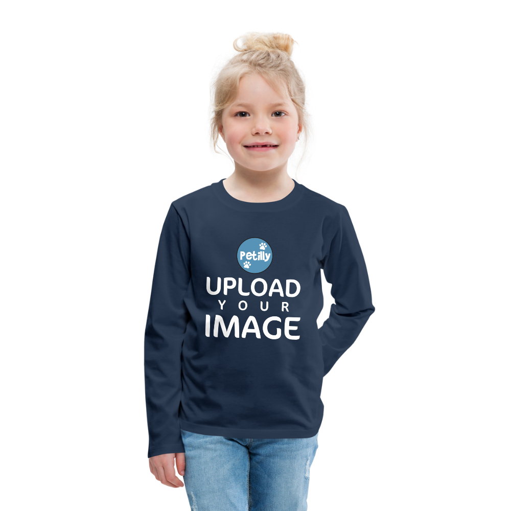 Kids' Premium Long Sleeve T-Shirt - petilly.com