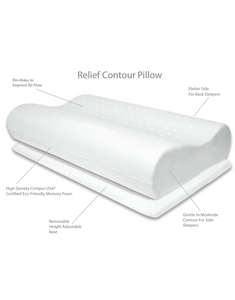 Contour Relief Memory Foam Pillow