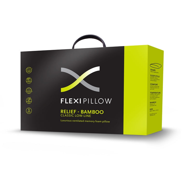 Relief Classic Low Line Memory Foam Pillow