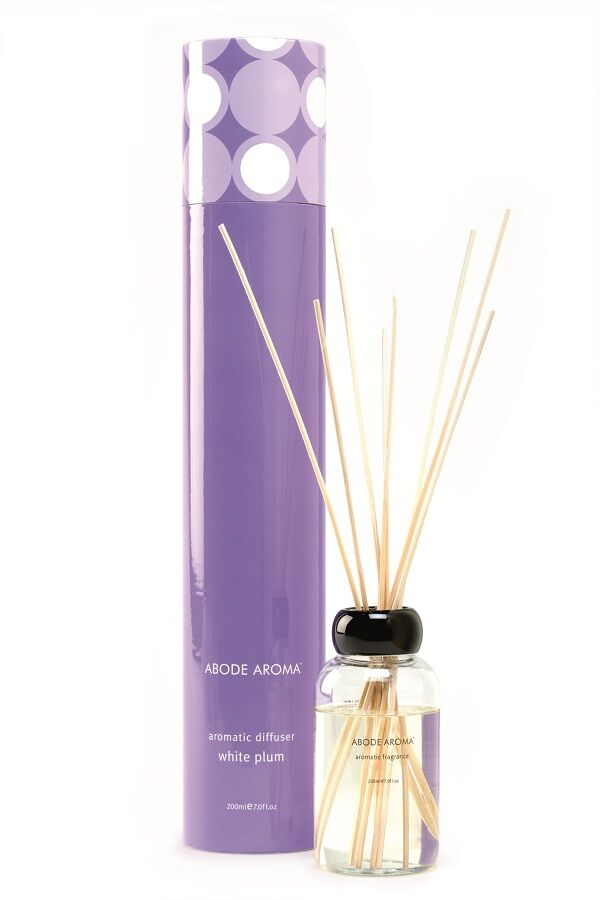 White Plum Reed Diffuser