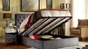 Cameo Upholstered storage bed