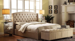 Hampton upholstered bed