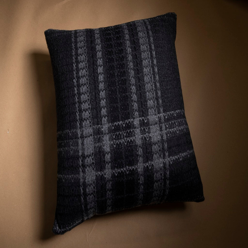 Black House Cushion