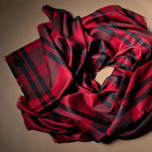 Load image into Gallery viewer, The Mary Cross Over Blanket Scarf