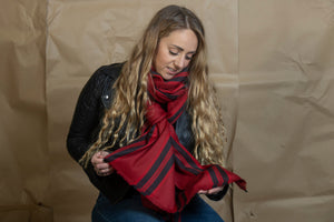 The Mary Dominant Blanket Scarf