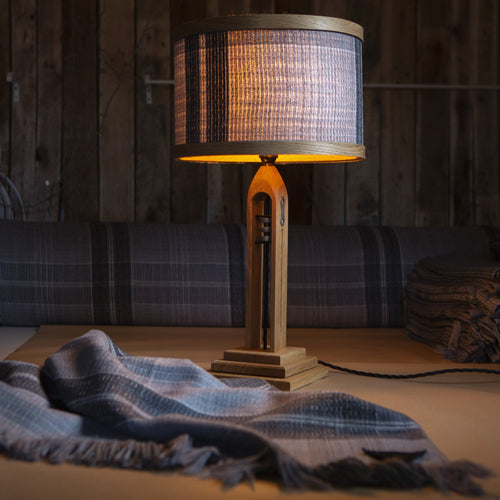 The Weavers Lamp & Throw Set