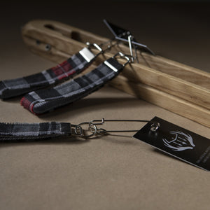 Kilted Yoga Key Holder