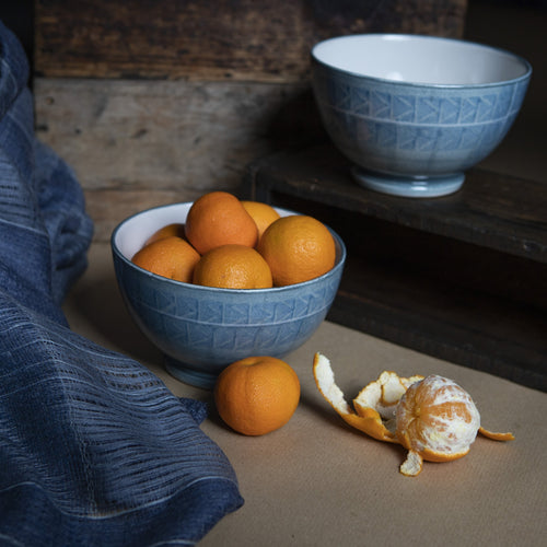 Elements Stoneware Pudding Bowl - Water