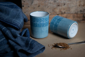 Elements Stoneware Mug - Water