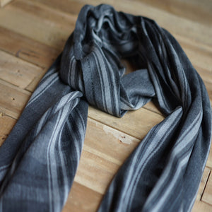 Black House Blanket Scarf