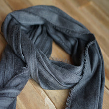 Load image into Gallery viewer, Black House Blanket Scarf
