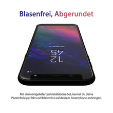 Laden Sie das Bild in den Galerie-Viewer, Samsung Galaxy A6 & A6 Plus Panzerglas [2 Stk.] - Extrem dünn, ultra hart [9H] und 100% transparent