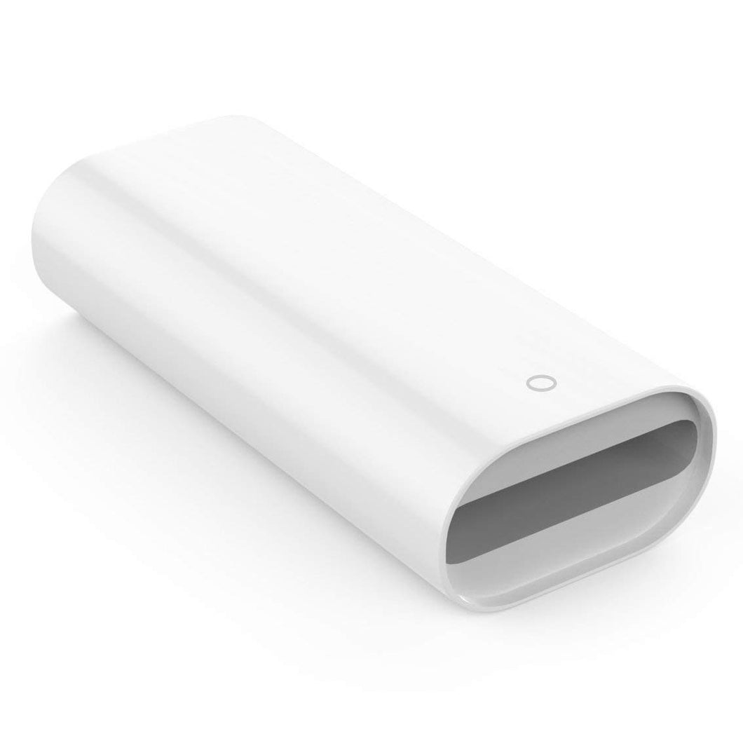 Apple Pencil Adapter - Lightning auf Lightning Lade-Adapter - Weiß