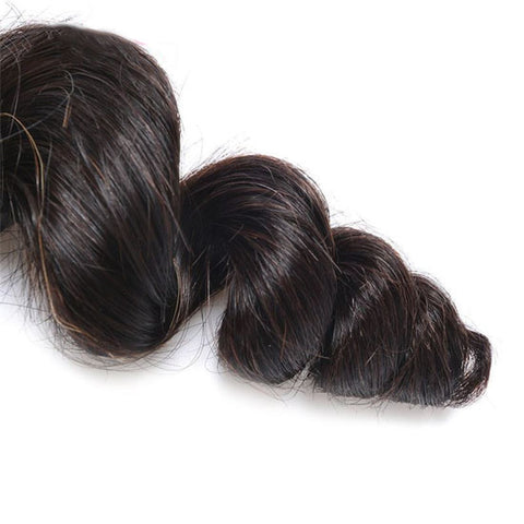 Image of Soul Lady Indian Loose Wave Virgin Hair 3 Bundles Human Hair Weave