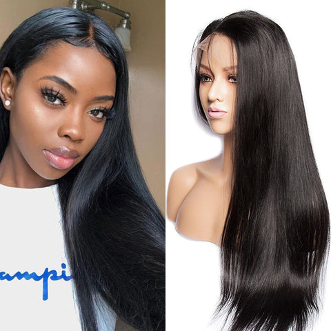 150% Density Brazilian Transparent 4x4 Lace Closure Wig