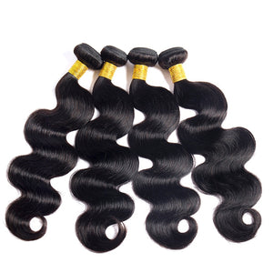 Soul Lady Brazilian Body Wave  Virgin Hair 4 Bundles Human Hair Weave