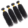 Soul Lady Indian Deep Curly Virgin Hair 4 Bundles Human Hair Weave