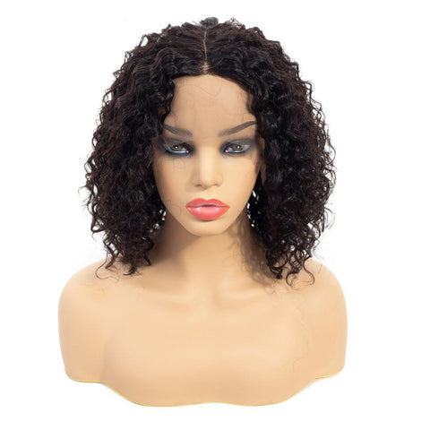 Image of kinky curly wig 13x4