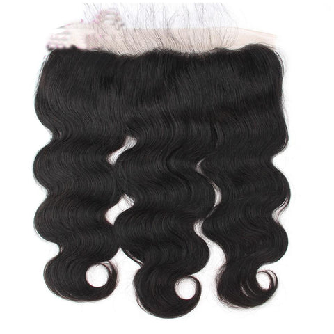 Image of Body Wave 3 Bundles Brazilian Human Hair with 13x4 Lace Closure - soulladyhair