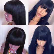 Load image into Gallery viewer, 150% Density Brazilian Straight Hair 13x6 Lace Front Wig - soulladyhair