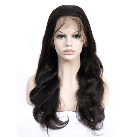 Soul Lady 150% Density Brazilian Pre Plucked Transparent Lace Frontal Body Wave Wig