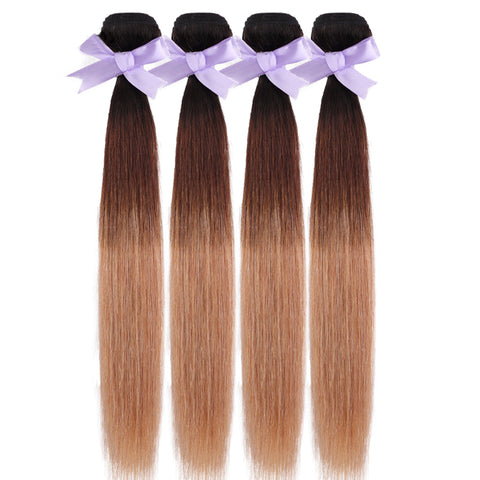 Image of Indian 3 tones Indian hair extensions