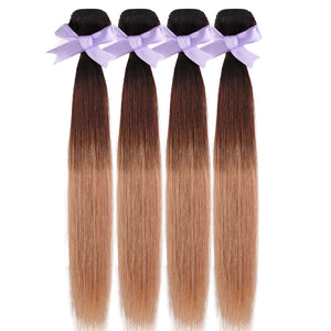 Indian 3 tones Indian hair extensions