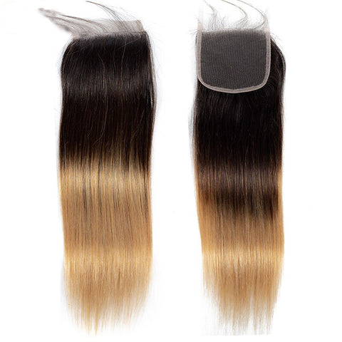 Image of 1b/4/27 lace closure 4x4