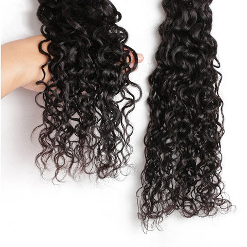 Soul Lady Indian Deep Curly Virgin Hair 3 Bundles Human Hair Weave