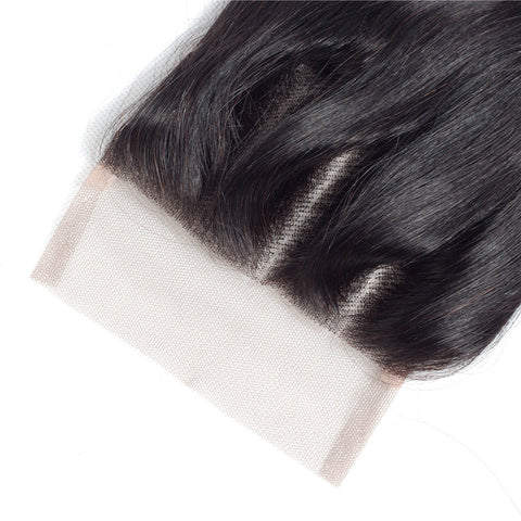 Image of Soullady Peruvian Body Wave 3 Bundles With Closure 5x5 Lace Closure