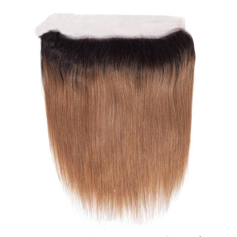 Image of the ombre hair color frontal 13x4