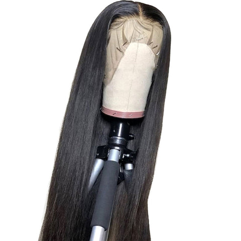 Image of Swiss Transparent 13x4 Lace Front Wig Straight 16-22inches