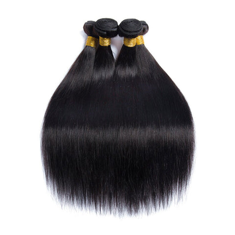 Soul Lady Peruvian Straight  Virgin Hair 4 Bundles Human Hair Weave