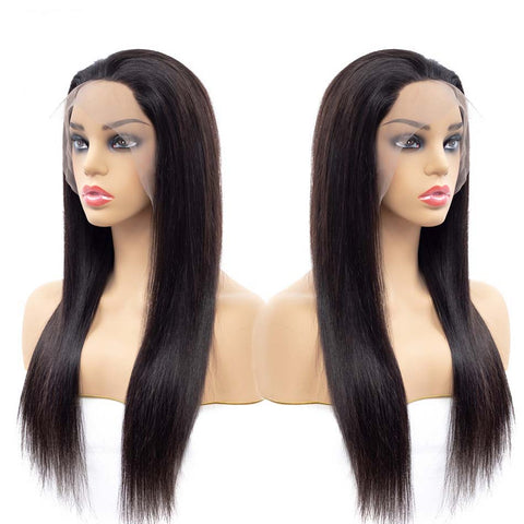 Image of lace front wig natural hair