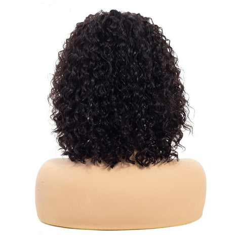 13x4 T part lace wig kinky curly Brazilian human hair