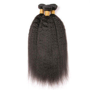Soul Lady Vietnam Kinky Straight Virgin Hair 3 Bundles Human Hair Weave