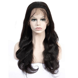 150% Density 13x4 Long Body Brazilian Remy Lace Front Wig - soulladyhair