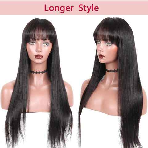 150% Density Brazilian Straight Hair 13x6 Lace Front Wig - soulladyhair