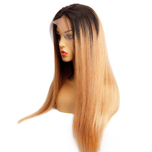 Peruvian 13x4 Lace Wig Straight Human Hair